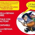 OSTRA / Domenica la Befana arriva in Piazza dei Martiri