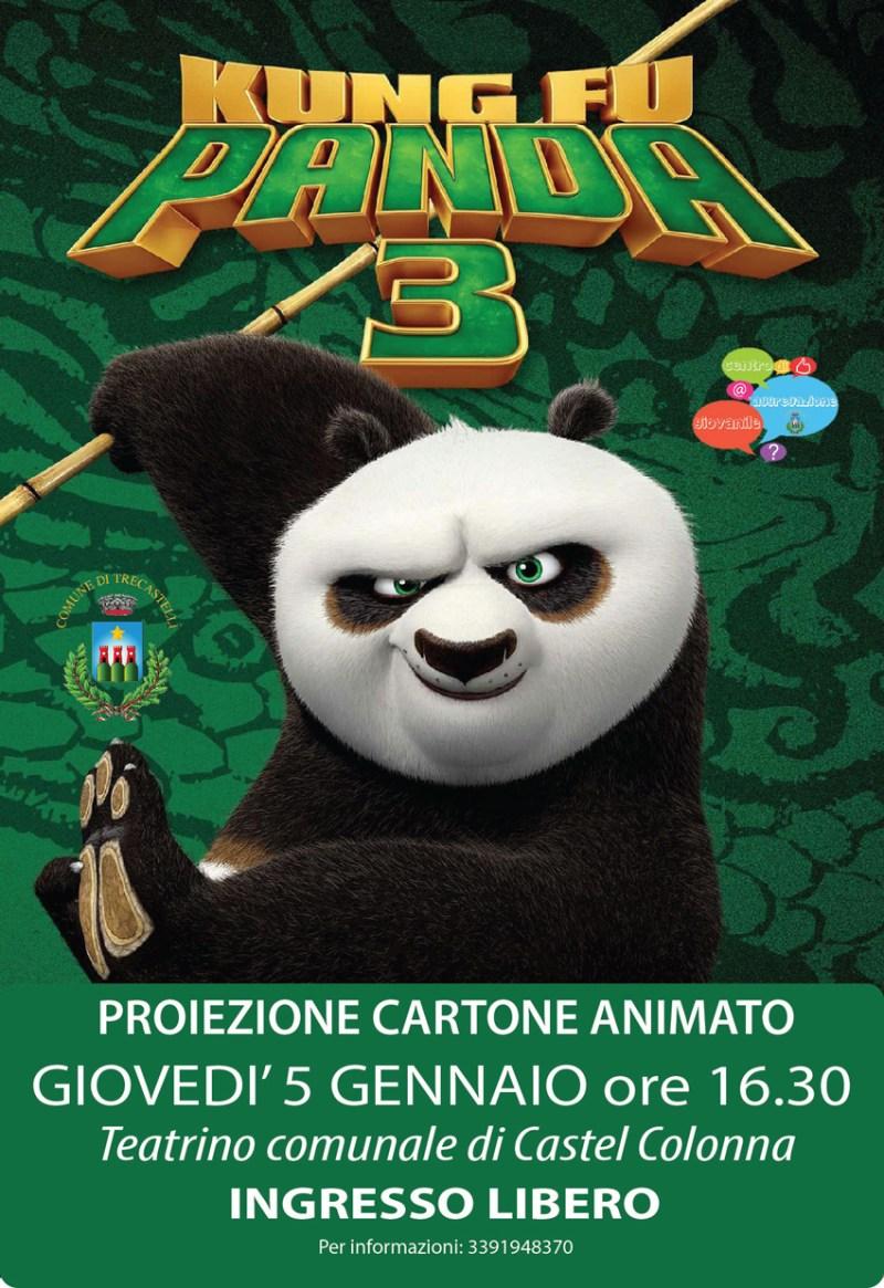TRECASTELLI / A Castel Colonna un cartone animato per bambini e famiglie