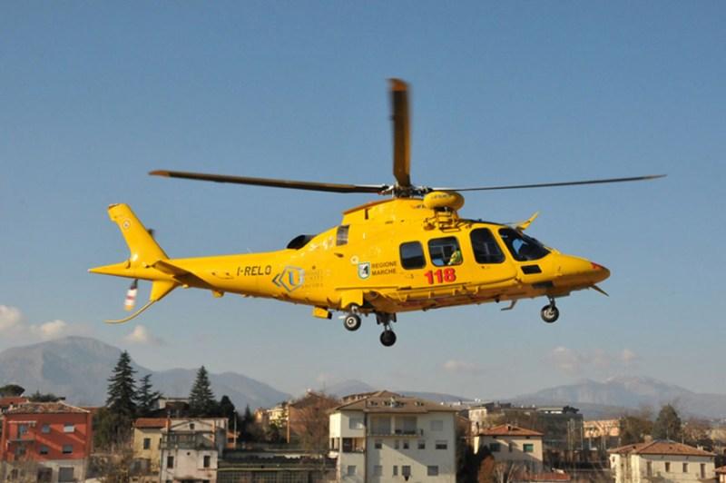 Incidente sul lavoro a Serra de' Conti, grave un operaio