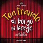 """SENIGALLIA / Da domenica torna """"Teatrando di borgo in borgo"""""""