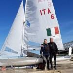 Ottima prova a Ostia per Borghi-Casagrande, equipaggio del Sailing Team Senigallia-Marotta-Torrette