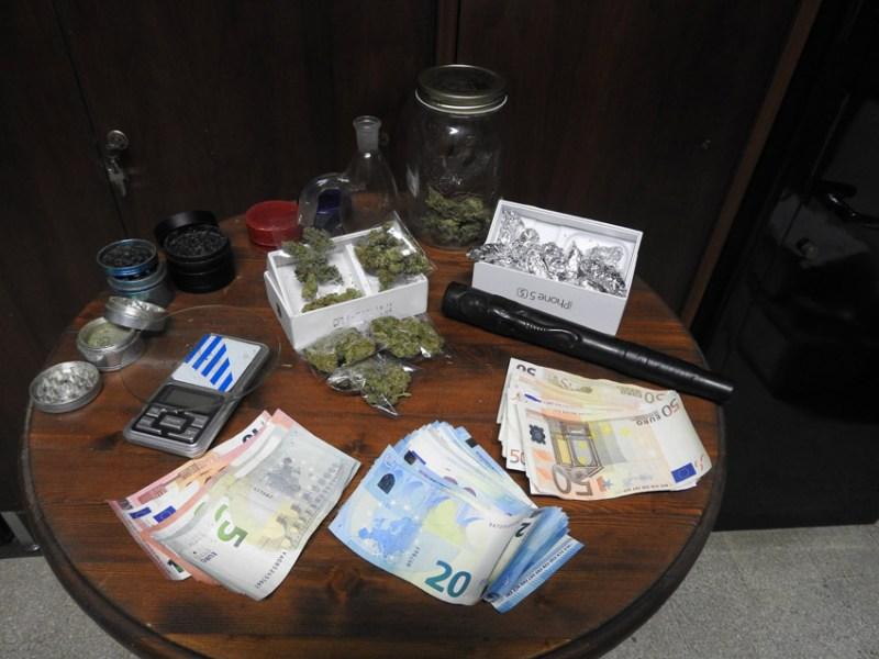 SENIGALLIA / Ventiduenne arrestato e subito condannato per detenzione di marijuana