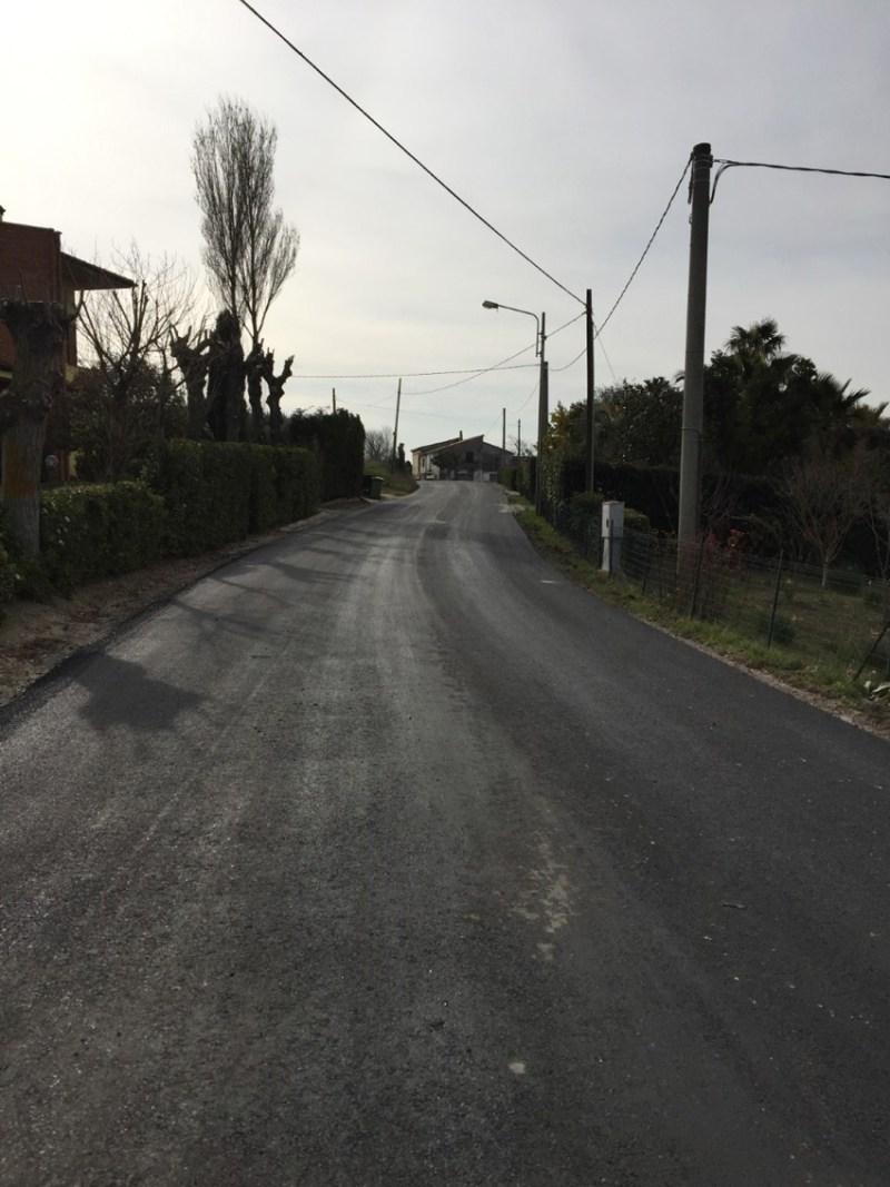 TRECASTELLI / Terminati i lavori in Via Consolazione, a Castel Colonna