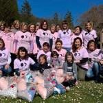 Le donne delle contrade di Urbino protagoniste dell'ennesima iniziativa benefica