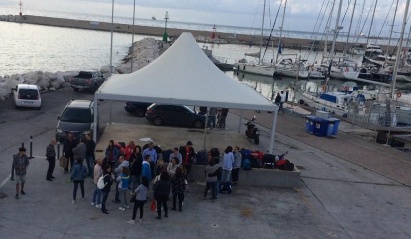 Gli studenti-velisti del Panzini pronti a partire per le coste della Croazia