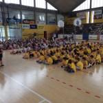 FANO / Oltre 600 bambini hanno invaso il Palasport per il progetto scuola della Basket Fanum