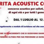 """Il concorso acustico """"Margarita Acoustic Contest"""" ha ottenuto il patrocinio del Comune di Fano"""