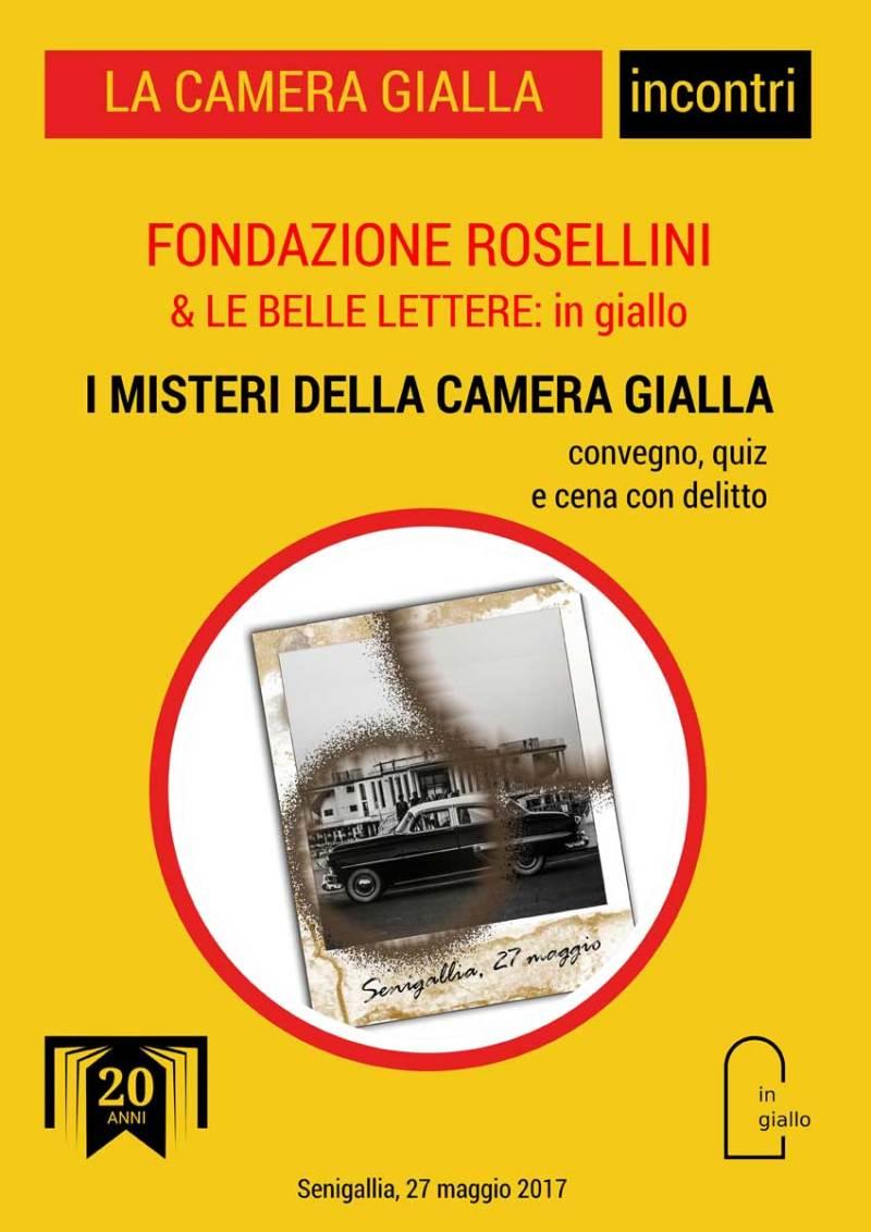 """""""I misteri della Camera Gialla"""" sabato pomeriggio in Biblioteca, a Senigallia"""