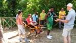 Alla Riserva del Furlo formati 15 accompagnatori di persone disabili in Joelette, prima esperienza nelle Marche