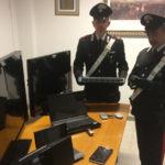 Dopo l'arresto di due senigalliesi per detenzione di droga i carabinieri scoprono un deposito di materiale rubato