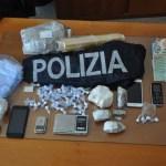 A Urbino operazione antidroga della polizia: arrestato un ventenne, denunciato un altro giovane