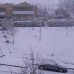 Ancora neve e ghiaccio lungo le strade: a Senigallia resta sospesa la raccolta dei rifiuti