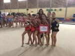 Ai campionati regionali di ginnastica ritmica brillano le atlete della Uisp di Senigallia