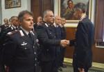 Il colonnello Cristian Carrozza, nuovo comandante provinciale dei Carabinieri, in visita alla Compagnia di Senigallia