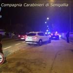Beve troppo e finisce fuori strada con l'auto a Senigallia, denunciato dai carabinieri