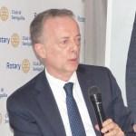 Il dottor Michele De Vita al Rotary di Senigallia per un approfondimento sulla Macroregione Adriatico Ionica