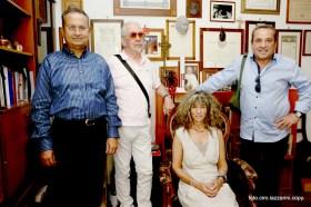 Da sinistra Ing. Massimo Rogante, Vincenzo Fermi, Alison Jocz e Maurizio Fermi