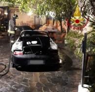 MAIOLATI SPONTINI incendio auto vdf2019-11-06 (2)