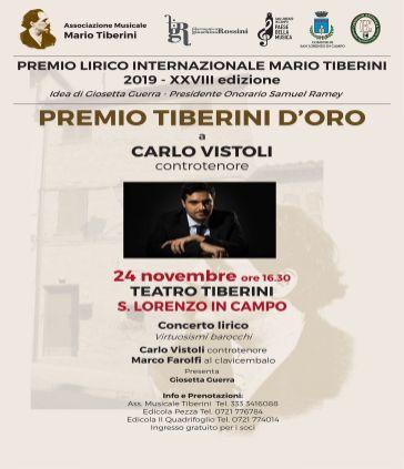 MANIF Premio Tiberini 2019 Vistoli
