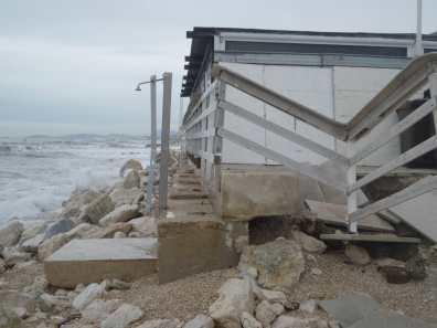 MARINA MONTEMARCIANO danni mareggiate lungomare spiaggia AgM2019-11-19 (1)