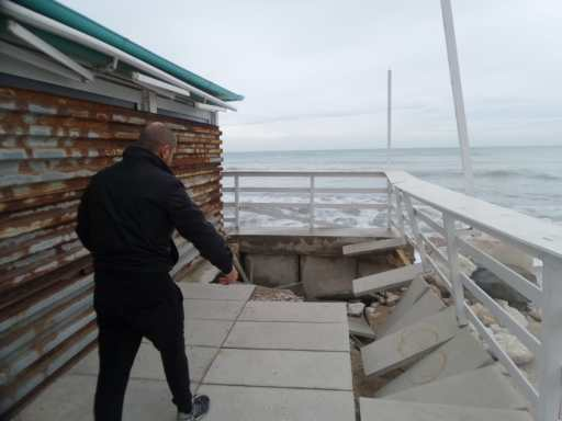 MARINA MONTEMARCIANO danni mareggiate lungomare spiaggia AgM2019-11-19 (8)