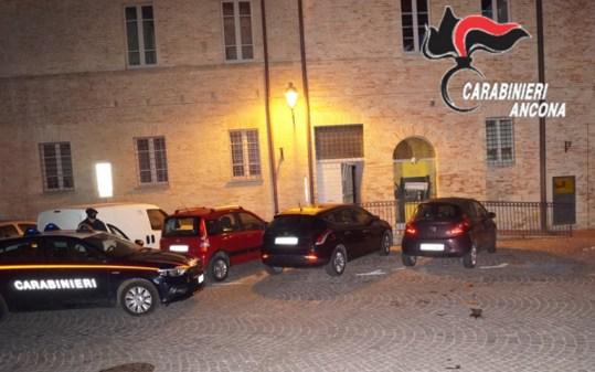 CORINALDO postamat esplosione carabinieri2019-12-05