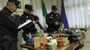 FANO carabinieri forestali bracconieri denunciati materiale sequestrato2019-12-03x (1)