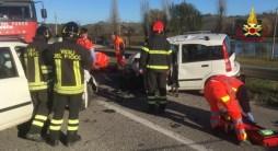 OSTRA VETERE incidente arceviese auto feriti vdf2019-12-14 (2)