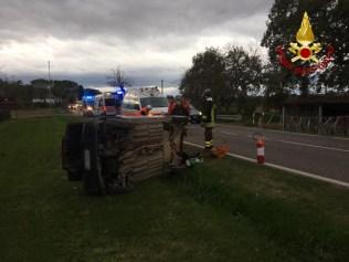 SENIGALLIA incidente donna auto vdf2019-12-02 (2)