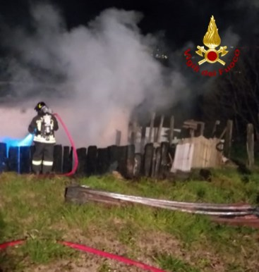CHIARAVALLE incendio capanno vdf2020-01-22 (1)