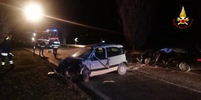 SERRA DE CONTI incidente auto morto vdf2020-01-12 (1)