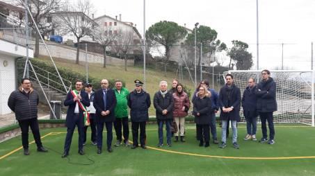 TRECASTELLI Inaugurazione Campetto polifunzionale Castel Colonna2020-02-01 (1)