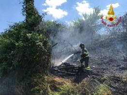 Monte San Vito incendio sterpaglie vdf2020-07-01 (1)
