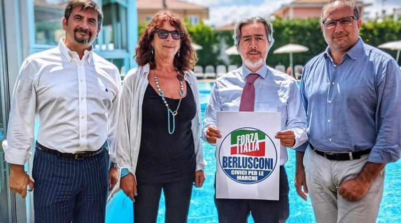 Paradisi e Giometti alle Regionali con i Civici in Forza Italia