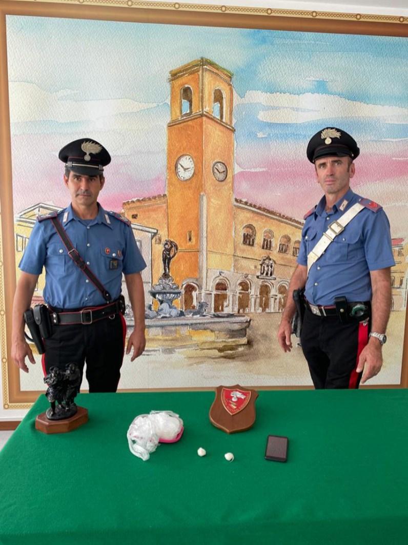 carabinieri FANO droga arresto2020-09-17