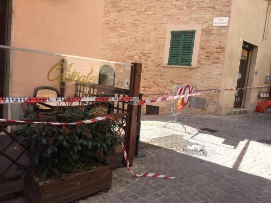 CORINALDO centro storico chiuso dopo crollo mura2021-02-19 (4)