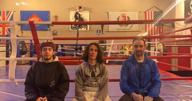 Domenica pomeriggio una bella riunione di boxe nella palestra Metaurilia di Fano