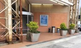SENIGALLIA ingresso danneggiato Il Maestrale furto MfP2021-04-10 (3)
