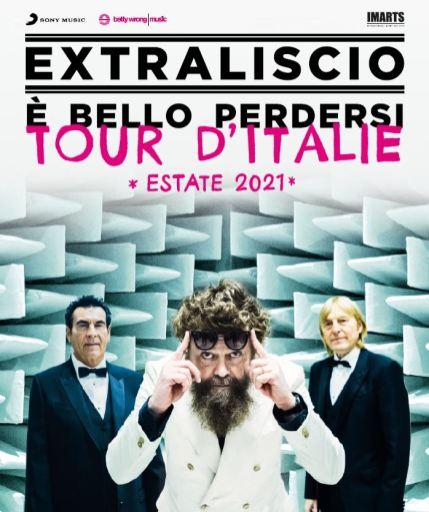 Locandina tour Extraliscio