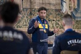ROMA nazionali pallavolo ricevute Quirinale Mattarella2021-09-27 (5)