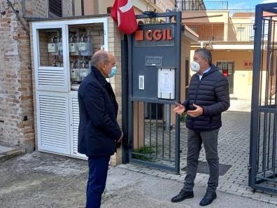 JESI sindaco Bacci sede Cgil2021-10-14
