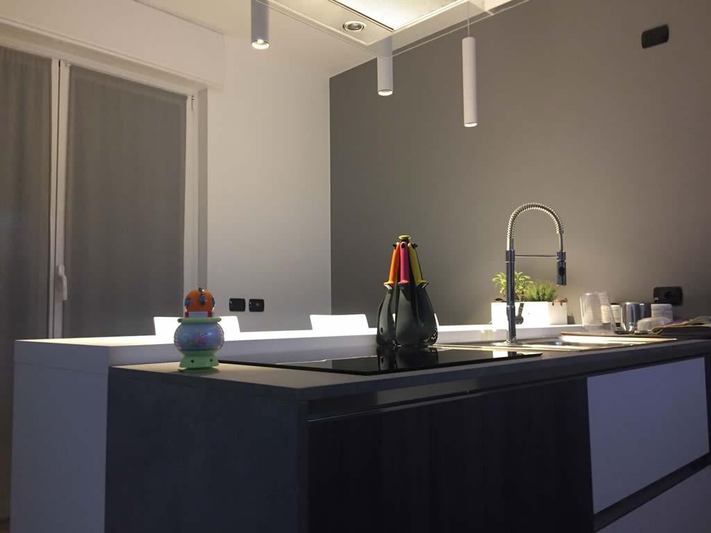 Illuminazione Cucina e Sala da Pranzo (Gorla) - La Luce