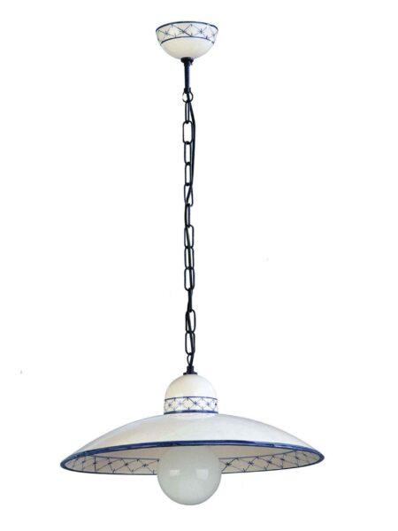 Estetiche come le applique in ceramica decorata, le plafoniere a 3 o più luci, i lampadari decorati a mano e le lampade a sospensione in metallo e cera. Lampadari Ceramica Decorati A Mano Napoli La Luce Del Futuro