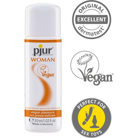 Pjur WOMAN Vegan - 30ml - Personal Lubricant