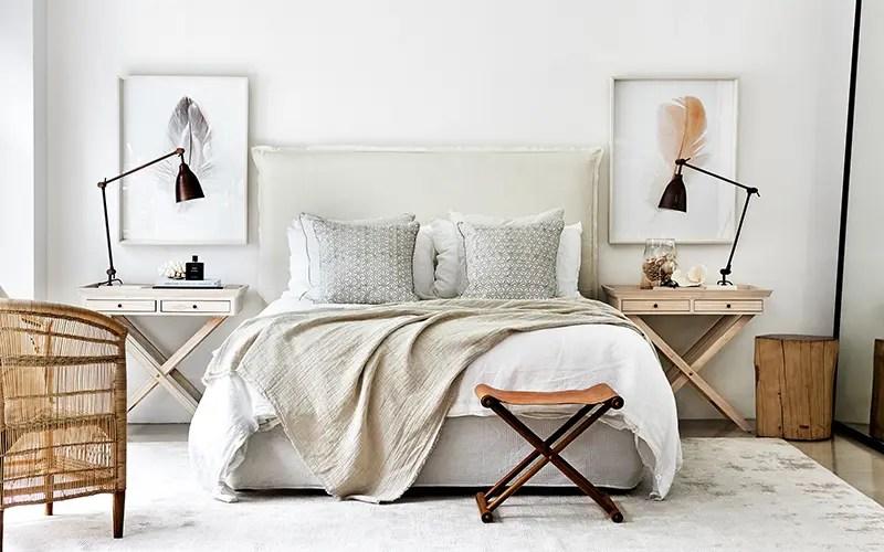 Hamptons Style Bedroom Design
