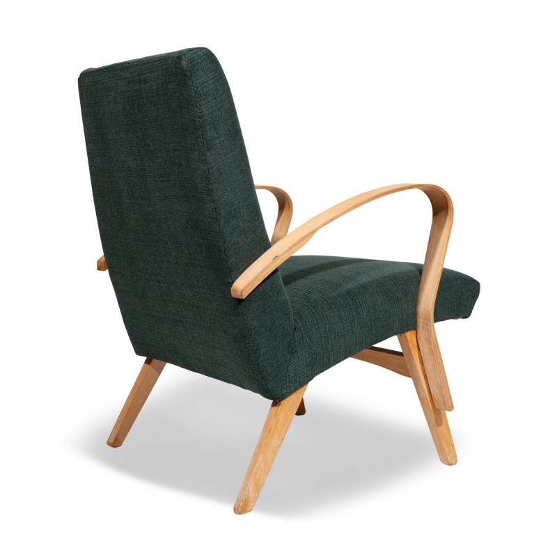 fauteuil scandinave hetre clair