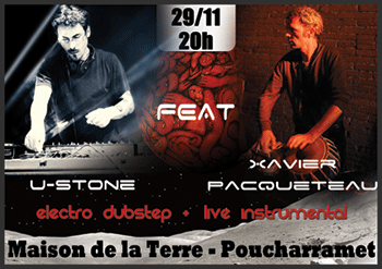 U-Stone et Xavier Pacqueteau