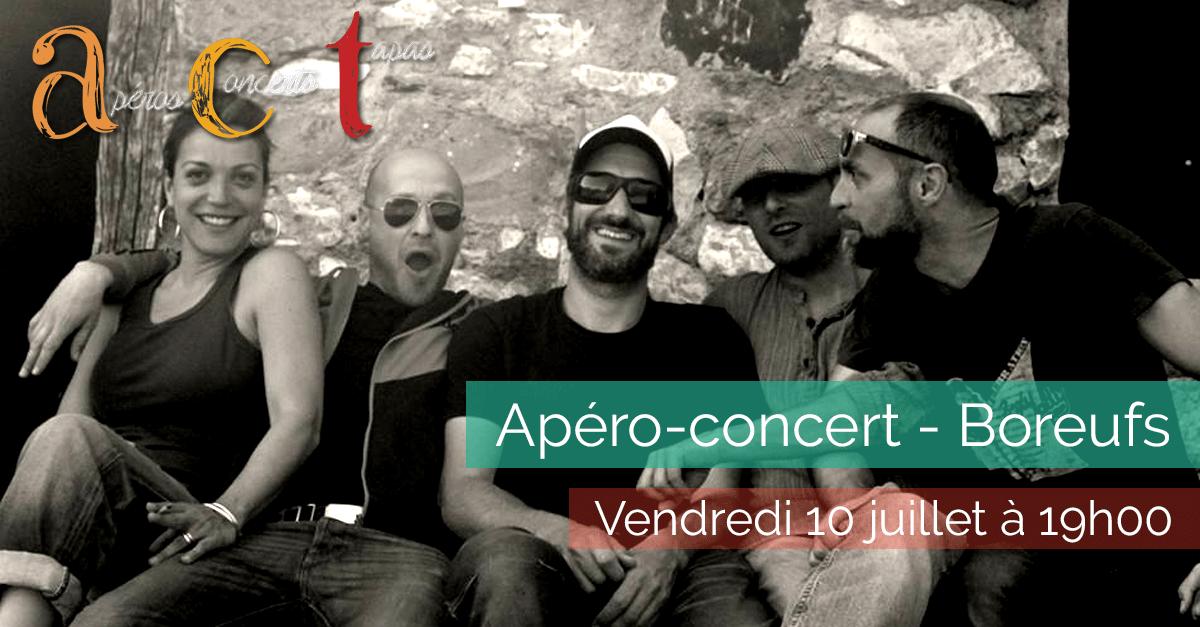 Apéro-concert - Boreufs - Vendredi 10 juillet 2015