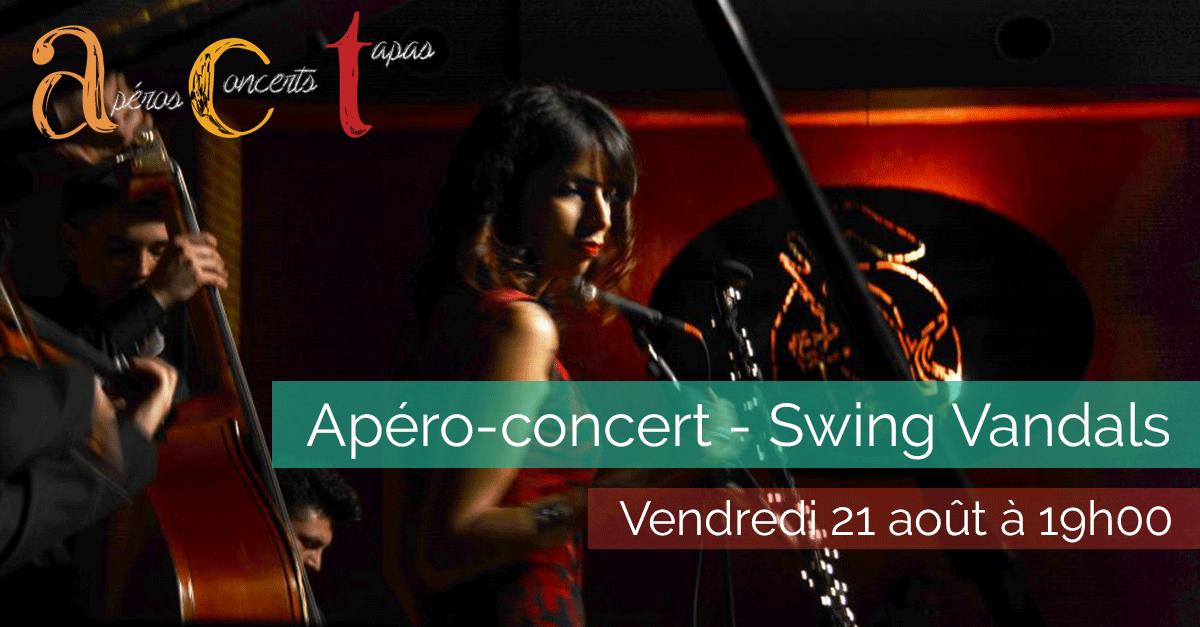 Concert - Swing Vandals - Vendredi 21 août 2015