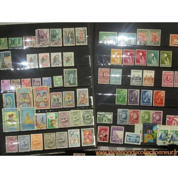 Timbres De Collection Colonies DOM TOM
